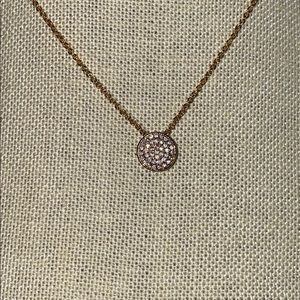 Express golden necklace